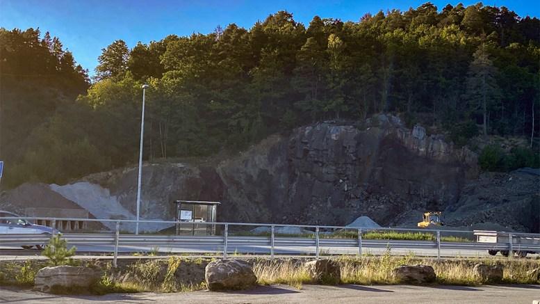 KRØGENES-KRATERET: Her åpner flertallet i kommuneplanutvalget i Arendal for handelsvirksomhet, og utfordrer den gjeldende kjøpesenterplanen for tidligere Aust-Agder fylke. Foto: Esben Holm Eskelund