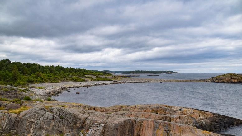 STØTTAVLBUKTA: Både på Merdø og Tromøy er navnet i bruk. Foto: Esben Holm Eskelund