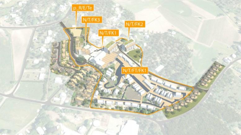 STORE PLANER: Arendal Herregaards planer for utvikling til et regionalt reiselivssenter er veldig ambisiøst, men finnes ikke maken til i denne delen av Agder. Illustrasjon: fra planbeskrivelsen