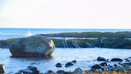 BJELLANDSTRANDA: Vakkert landskap mot Skagerrak på Bjelland. Foto: Esben Holm Eskelund