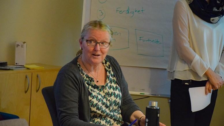 NÆRINGSLIV PÅ TROMØY: Sps Milly Olimstad Grundesen (Sp) tar til orde for å få lagt inn områder på Tromøy som næringsarealer for å legge til rette for lokale bedrifter. Arkivfoto