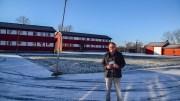 BOKEN OM MYRDAL: Forfatter og historiker Gjermund Orrego Bjørndahl forsøker å gi et svar på hva som gjorde Arne Myrdal til en politisk ekstremist i sin samtid. Foto: Esben Holm Eskelund