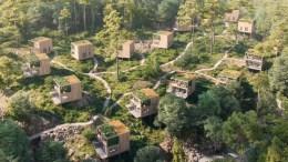 HYTTEOMRÅDER: Hvordan skal nye hyttefelt og utvidelser av hyttefelt i Arendal kommune se ut? Det skal diskuteres prinsipielt av politikerne. Foto: skjermdump Teams / Kommuneplanutvalget