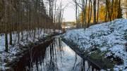 RÅNA: Kanalen binder ferskvannet og saltvannet sammen på dette stedet. Foto: Esben Holm Eskelund