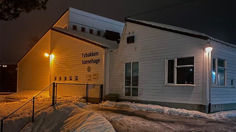 BARNEHAGESMITTE: Barnehagen er stengt etter positive koronatester. Foto: Esben Holm Eskelund