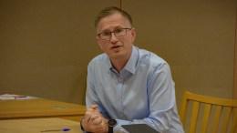 NASJONAL INNSTRAMMING: Ordfører Robert C. Nordli i Arendal, mener koronainnstrammingene som kommer vil bli tøffe. Arkivfoto