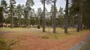 LIGGER BRAKK: Arbeidet med reguleringsplanen for campingarealet på Hoveodden har stoppet opp. Arkivfoto