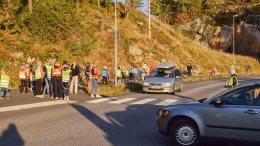 HJERTESONER: Bystyret legger penger i potten til å få FAU-ene ved skolene til å etablere hjertesoner og holde trafikkaksjoner, for å forebygge farlige trafikksituasjoner ved skolene i Arendal kommune. Arkivfoto