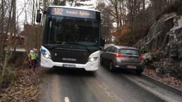 TRAFIKKSIKKERHET: Roligheden FAU og Revesand vel reagerer kraftig på at veistrekningen ikke er nevnt med et ord i fylkeskommunens plan for trafikksikkerhetstiltak de neste årene. Arkivfoto