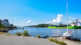 BER OM STANS: Havnestyret ber bystyret stoppe mer arealbruk både på Tromøy og Eydehavn som er eller kan havne i konflikt med oppskaleringen av Arendal havn. Foto: Esben Holm Eskelund