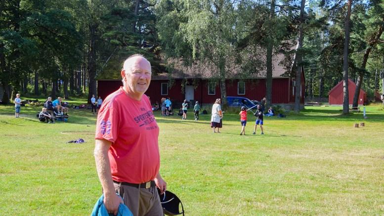 HOVE LEIRSKOLE: Daglig leder for leirskole og driftsselskap på Hove, Terje Stalleland, melder om at leirskoletilbudet på Hove nå går i pluss. Foto: Esben Holm Eskelund