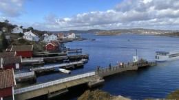 MERDØ-REGULERING: Hvor anløp for ferje skal være på Merdø er det fortsatt ikke enighet om. Havnestyret ber om at Nabben må utredes som alternativ, og at hele reguleringsplanen må ha inn et ekstra formål utover bevaring. Illustrasjon: Asplan Viak