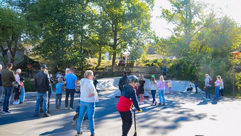 SANDNES AKTIVITETSPARK: Skate- og rulleanlegget ved Sandnes skole og Sandnes stadion er et godt eksempel på samskaping i praksis. Foto: Esben Holm Eskelund