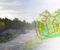 TYBAKKTOPPEN: Det tidligere Torsåsen er omdøpt til Tybakktoppen. Nå kan det snart startes utbygging, som kan øke antallet innbyggere på Tybakken terrasse med 50 prosent. Foto: Montasje / Esben Holm Eskelund