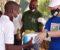 TILBAKE I ZAMBIA: Christoffer Jacobsen er tilbake i Zambia, og delte ut covid-støtte i samarbeid med Sport in Action og Arendal Herregaard. Foto: Privat