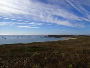 de baai van Ile d'Houat