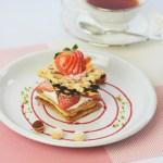 【2・3月限定!】季節のケーキ「ベリータワー」