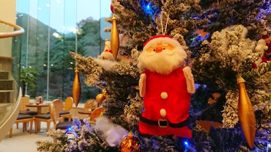 クリスマスツリー イン 月光園 2017