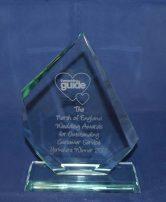 Wedding Guide Awards Trophy