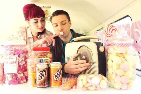 Gel Bridal  Shoot Vintage style for Candy Treats Wakefield with Photography By  Glen