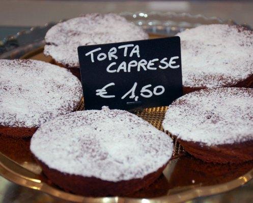 Torta Caprese monoporzione - Gelateria Millennium