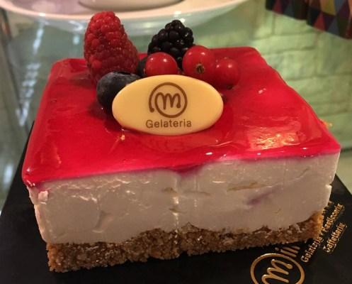 Cheesecake ai frutti di bosco - Gelateria Millennium