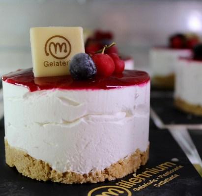 Gelateria Millennium - mini cheesecakes ai frutti di bosco