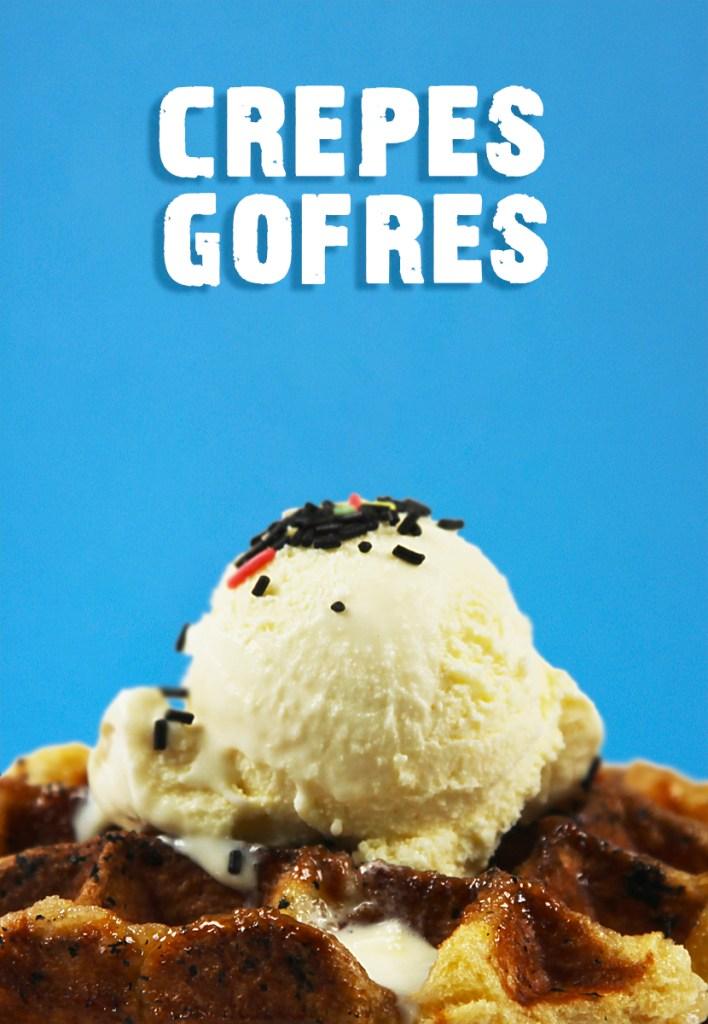 helados, gofres, crepes, cafes, batidos, granizados