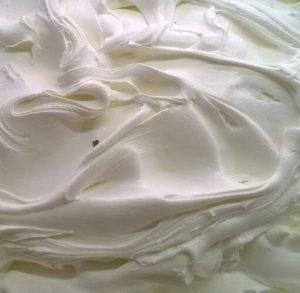 vaschetta bianca