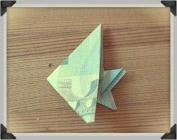 Aus 5 Euro Ein Geldgeschenk Falten