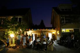 Straatbarbecue in de Bosrand