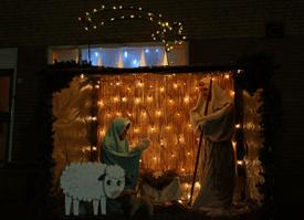 Kerstsfeer in de Coevering