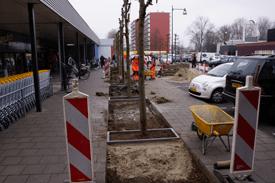 herbestrating Winkelcentrum
