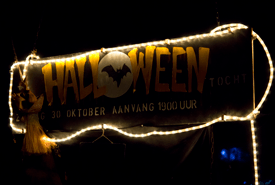 Halloweentocht Wijkcentrum De Dreef