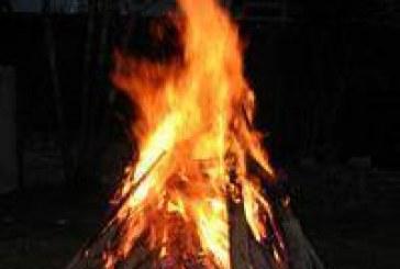 Acender fogueira e bater tambor