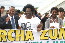 Marcha Zumbi + 10 - Documento da manifestação