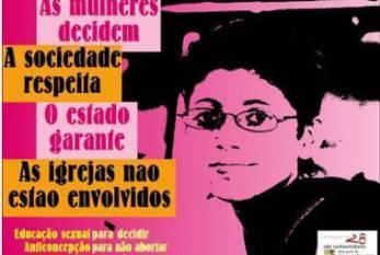 Rede Feminista de Saúde divulga o manifesto da Campanha 28 de Setembro - Dia pela Despenalização do Aborto na América Latina e Caribe