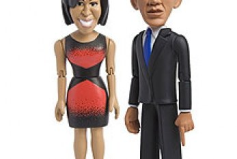 Empresa americana lança bonecos de Barack e Michelle Obama