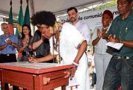 Canoas: Incra dá título oficial ao quilombo Chácara das Rosas
