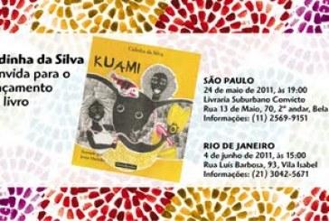 Lançamento de Kuami, livro novo de Cidinha da Silva, no Rio e em São Paulo