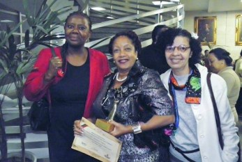 Sete mulheres receberam o I Prêmio Luiza Mahin