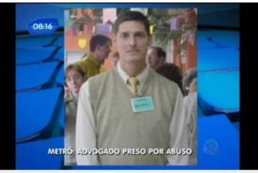 Advogado acusado de abuso no metrô é afastado