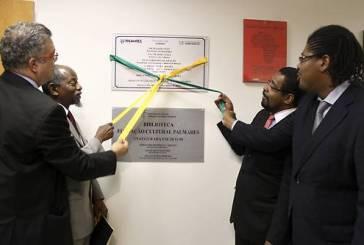 Inaugurada a Biblioteca da FCP em homenagem a Oliveira Silveira
