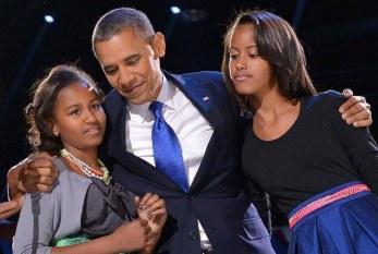Filhas de Obama vão passar a adolescência na Casa Branca
