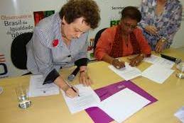Ministras Eleonora Menecucci e Luiza Bairros firmam compromisso de combate ao Racismo Institutucional