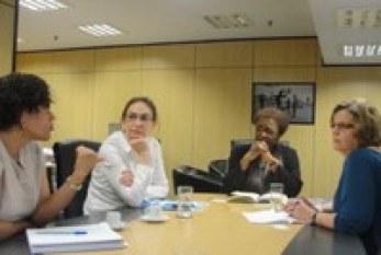 Ministra da Igualdade Racial recebe representantes da ONU Mulheres