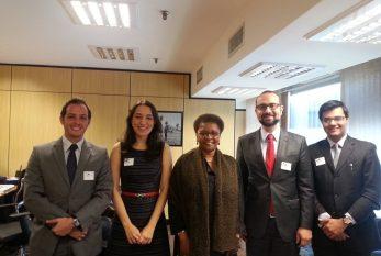 Ministra Luiza Bairros é paraninfa da turma de Diplomatas 2012-2014