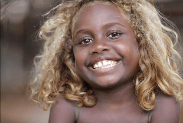 O país onde os negros tem cabelos naturalmente loiros