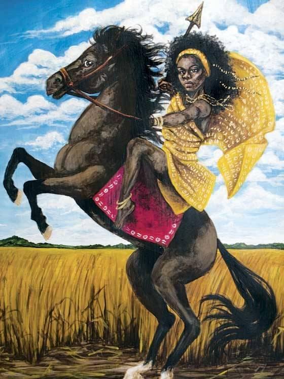 Yennenga, também conhecido como o Yennenga Svelte, era uma princesa Africano lendária, considerada a mãe do povo Mossi de Burkina Faso. [1] Ela era um guerreiro famoso cujo filho Ouedraogo fundou os reinos Mossi.