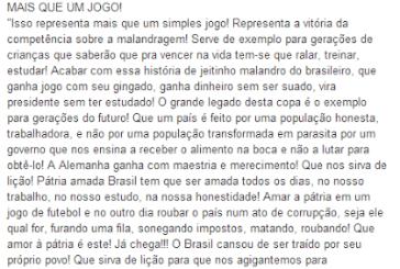 Brazil Progresso vs. Brasil Parasita ?